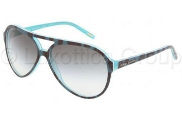 Dolce&Gabbana DG4099 Bifocal Prescription Sunglasses DG4099-17548E-6113 - Lens Diameter 61 mm, Frame Color Animal Green