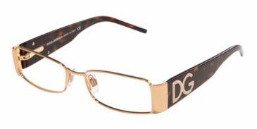 Dolce & Gabanna DG1143B #207 - Gold Green Demo Lens Frame