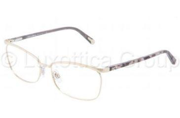 Dolce&Gabbana DG1217 Single Vision Prescription Eyewear 1075-5315 - Pale Gold