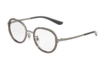 e6890e5c6e4 Dolce Gabbana DG1307 Eyeglass Frames 504-49 - Transparent Grey Frame