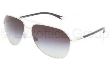 Dolce&Gabbana DG2094 Sunglasses 05/8G-6114 - Silver Gray Gradient