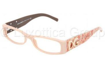 Dolce&Gabbana DG3058B Single Vision Prescription Eyeglasses 692-5116 - Nude