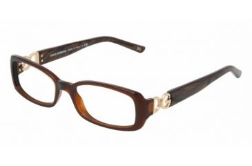 Dolce & Gabanna DG3083 #1582 - Brown Demo Lens Frame