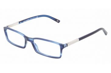 Dolce & Gabanna DG3096 #1731 - Striped Blue Frame, Demo Lens Lenses