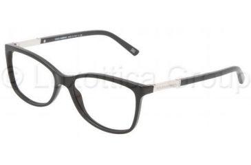 Dolce&Gabbana DG3107 Progressive Prescription Eyeglasses 501-5215 - Black