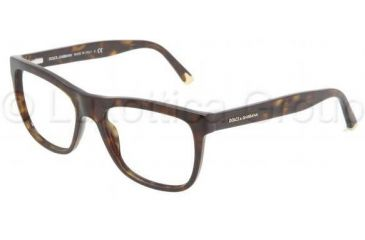 Dolce&Gabbana DG3108 Progressive Prescription Eyeglasses 502-5117 - Havana