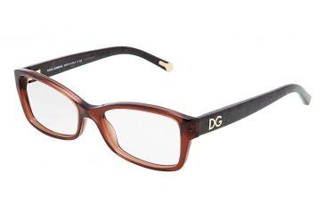 Dolce&Gabbana DG3119 Eyeglass Frames 2542-5216 - Transparent Brown Frame
