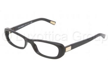 Dolce&Gabbana DG3120 Single Vision Prescription Eyewear 501-5416 - Black