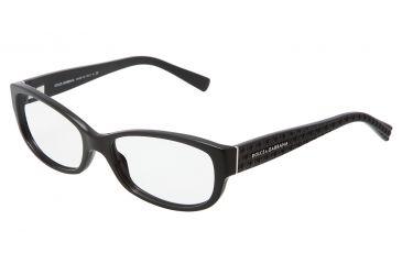 Dolce&Gabbana DG3125 Eyeglass Frames 501-5516 - Black Frame