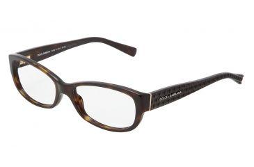 Dolce&Gabbana DG3125 Eyeglass Frames 502-5516 - Havana Frame