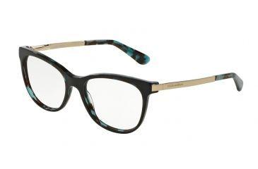 67f713f44fe0 Dolce Gabbana DG3234 Bifocal Prescription Eyeglasses 2887-52 - Petrolemu  Cube Frame