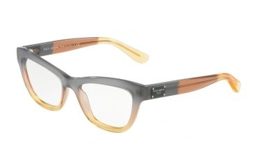 d2309c58f65 Dolce Gabbana DG3253 Bifocal Prescription Eyeglasses 3074-49 - Grad  Brown caramel yellow Frame