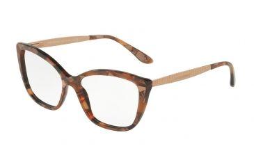 f18f2b03324 Dolce Gabbana DG3280 Eyeglass Frames 3131-52 - Cube Bronze Frame