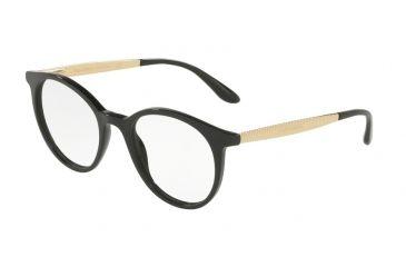7ab6cc639a5 Dolce Gabbana DG3292 Eyeglass Frames 501-48 - Black Frame