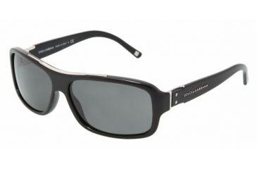 Dolce & Gabanna DG4071 #501/87 - Shiny Black Gray Frame