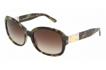 Dolce & Gabanna DG4086 #173513 - Green Havana Brown Gradient Frame