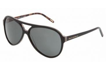 Dolce & Gabanna DG4099 #175087 - Animal Black Frame, Gray Lenses