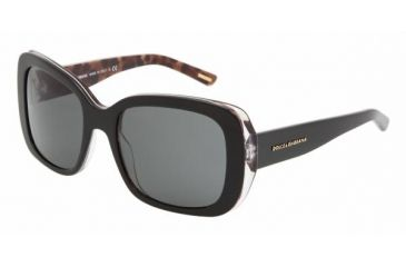 Dolce & Gabanna DG4101 #175087 - Animal Black Gray Frame