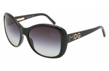 Dolce & Gabanna DG4108 #501/8G - Black Gray Gradient Frame
