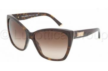 Dolce & Gabbana DG4111 Sunglasses 502/13-5915 - Havana Brown Gradient