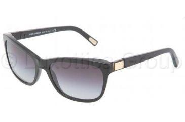 Dolce&Gabbana DG4123 Bifocal Prescription Sunglasses DG4123-501-8G-5717 - Frame Color Black, Lens Diameter 57 mm