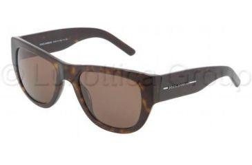 Dolce&Gabbana DG4127 Progressive Prescription Sunglasses DG4127-502-73-5321 - Frame Color Havana, Lens Diameter 53 mm