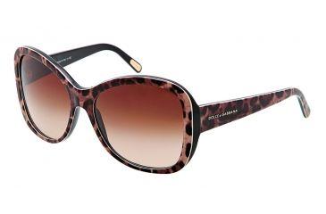 Dolce&Gabbana DG4132 Sunglasses 262913-5716 - Brown Gradient Frame