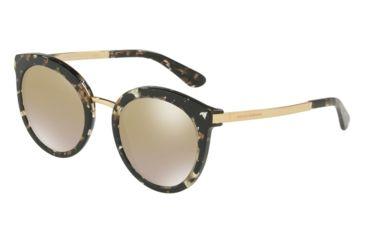 cd904727979d Dolce Gabbana DG4268 Sunglasses 911 6E-52 - Cube Black gold Frame