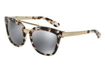 Dolce Gabbana DG4269 Sunglasses 28886G-54 - Cube Havana Fog Frame 80415f6ffff03