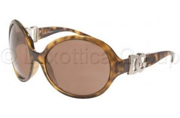 Dolce & Gabbana DG6030B Sunglasses 502/73-6417 - Havana Brown