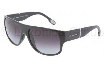 Dolce&Gabbana DG6061 Bifocal Prescription Sunglasses DG6061-501-8G-5816 - Frame Color Black, Lens Diameter 58 mm