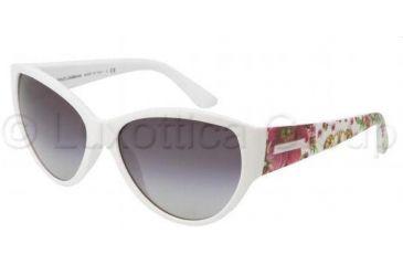 Dolce&Gabbana DG6064 Bifocal Prescription Sunglasses DG6064-25088G-5916 - Lens Diameter 59 mm, Frame Color White