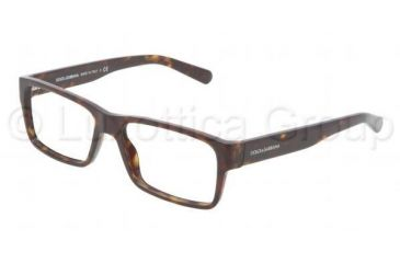 Dolce&Gabbana Discovery the unexpected DG3132 Progressive Prescription Eyeglasses 502-5316 - Havana Frame