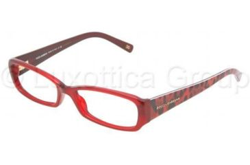Dolce&Gabbana Eyeglasses DG3085 with Lined Bifocal Rx Prescription Lenses 1829-5116 - Red