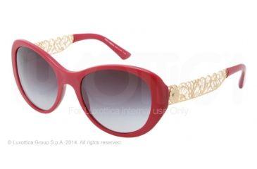 96f634a82ff Dolce Gabbana FILIGRANA DG4213 Sunglasses 25838G-55 - Matte Bordeaux Frame