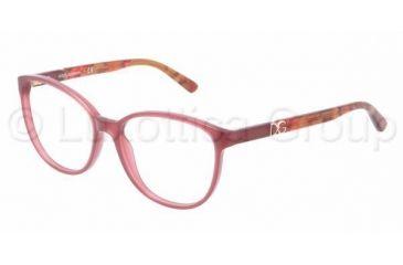 Dolce&Gabbana ICONIC LOGO DG3154P Single Vision Prescription Eyeglasses 2690-5216 - Dark Steel Frame