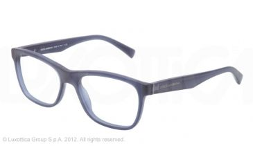 Dolce&Gabbana INTEGRATED FLEX HINGE DG3144 Eyeglass Frames 1850-53 - Matte Blue Frame