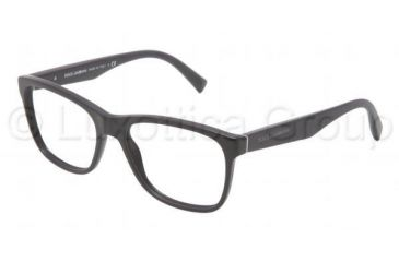 Dolce&Gabbana INTEGRATED FLEX HINGE DG3144 Eyeglass Frames 1934-5317 - Matte Black Frame