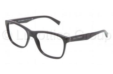 Dolce&Gabbana INTEGRATED FLEX HINGE DG3144 Eyeglass Frames 501-5317 - Black Frame
