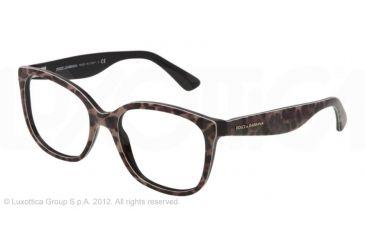 Dolce&Gabbana LACE DG3165 Eyeglass Frames 1995-52 - Leopard Frame