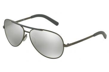 82bda0e920c7 Dolce Gabbana LIFESTYLE DG2141 Sunglasses 12216G-61 - Matte Gunmetal Frame