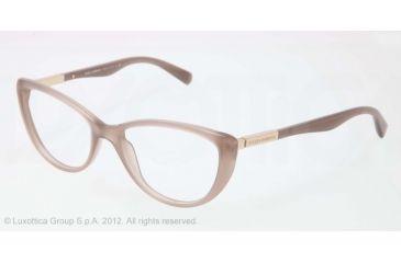 Dolce&Gabbana LIPSTICK DG3155 Bifocal Prescription Eyeglasses 2679-52 - Opal Taupe Frame, Demo Lens Lenses