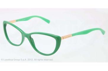 Dolce&Gabbana LIPSTICK DG3155 Bifocal Prescription Eyeglasses 2699-52 - Matte Opal Green Frame, Demo Lens Lenses
