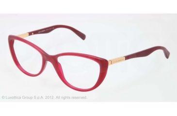 Dolce&Gabbana LIPSTICK DG3155 Bifocal Prescription Eyeglasses 2702-52 - Matte Opal Pink Frame, Demo Lens Lenses