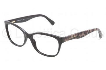 Dolce&Gabbana MATT SILK DG3136 Bifocal Prescription Eyeglasses 2525-5316 - Black Frame