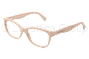 Dolce&Gabbana MATT SILK DG3136 Bifocal Prescription Eyeglasses 2585-5316 - Matte Powder Frame, Demo Lens Lenses