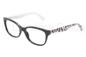 Dolce&Gabbana MATT SILK DG3136 Bifocal Prescription Eyeglasses 501-5316 - Black Frame