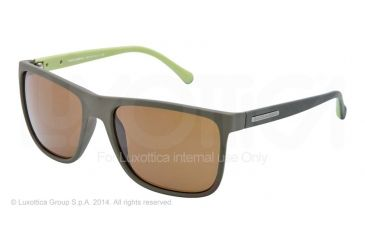 00d37cb46c7 Dolce Gabbana OVER-MOLDED RUBEBR DG6086 Sunglasses 280771-56 - Green Rubber  Frame