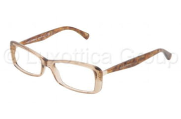 Dolce&Gabbana Sensual&Feminine DG3139 Progressive Prescription Eyeglasses 2588-5216 - Dark Steel Frame