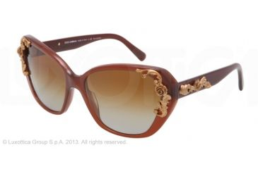 Dolce&Gabbana SICILIAN BAROQUE DG4167 Bifocal Prescription Sunglasses DG4167-2682T5-59 - Lens Diameter 59 mm, Lens Diameter 59 mm, Frame Color Opal Caramel